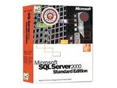 MS SQL Server 2000 Standard Edition - 10 clients - Academic