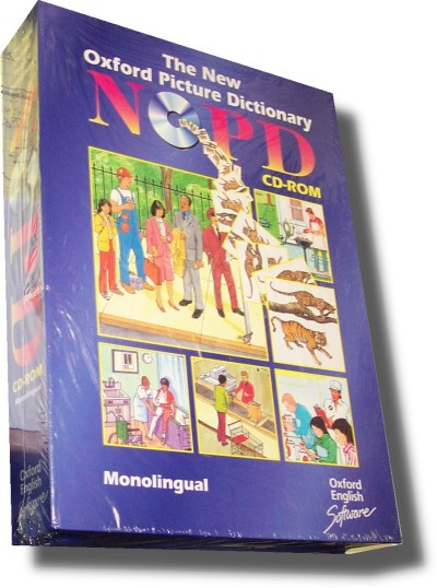 New Oxford Picture Dictionary Monolingual English CD-ROM