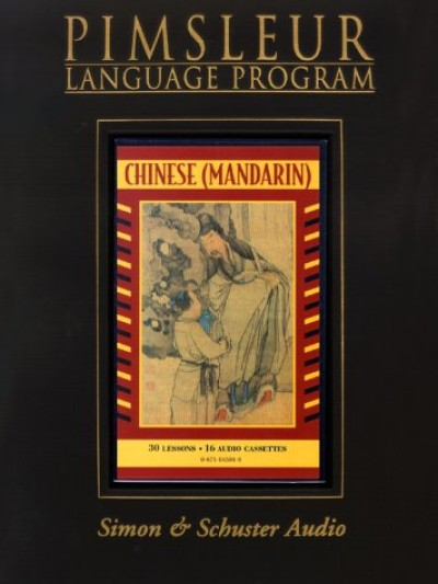 Pimsleur Comprehensive Chinese (Mandarin) I (30 lesson) CD