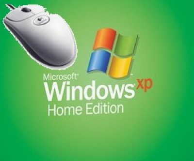 Hebrew Windows XP Home and Optical Mouse (USB/PS2)