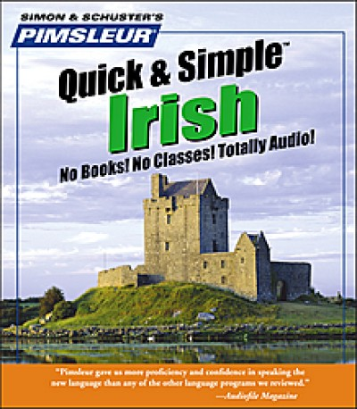 Pimsleur Quick & Simple Irish (8 lessons / Audio CD)