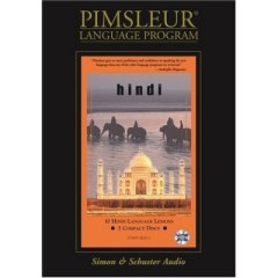 Pimsleur Hindi Compact (10 lesson) Audio CD