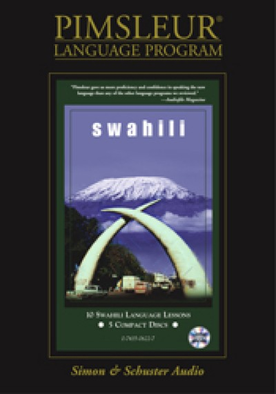 Pimsleur Swahili Compact (10 lesson) Audio CD
