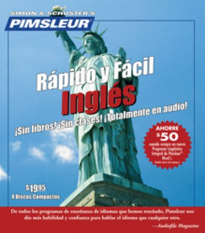Pimsleur ESL Quick and Simple Spanish Speakers Basic (8 lesson) Audio CD