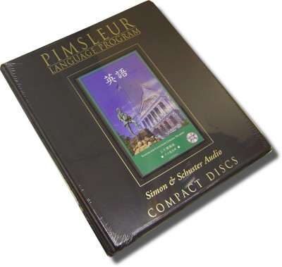 Pimsleur ESL Comprehensive Chinese (Cantonese) 30 lesson Audio CD