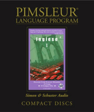 Pimsleur ESL Comprehensive Italian I (30 lesson) Audio CD