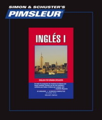 Pimsleur ESL Comprehensive Spanish I (30 lesson) Audio CD