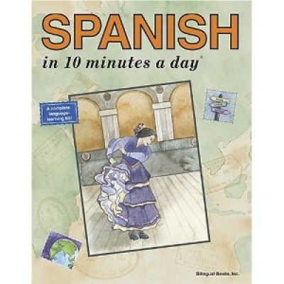 Bilingual Books - SPANISH in 10 minutes a day ®