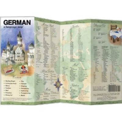 Bilingual Books - German a Language Map™ in GERMAN