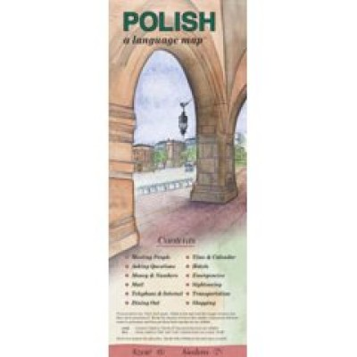 Bilingual Books - Language Map™ in POLISH