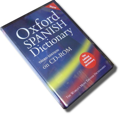 Oxford Spanish Dictionary on CD-ROM
