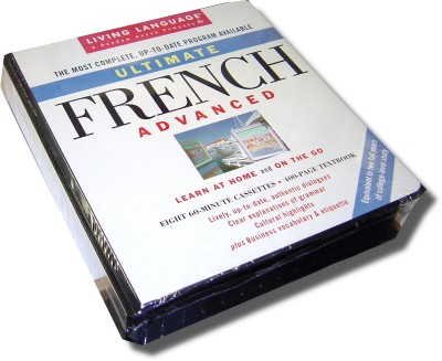 Living Language - Ultimate French - Advanced (cassettes & book)