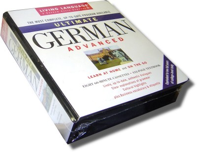 Living Language - Ultimate German Advanced - Cassettes & Book