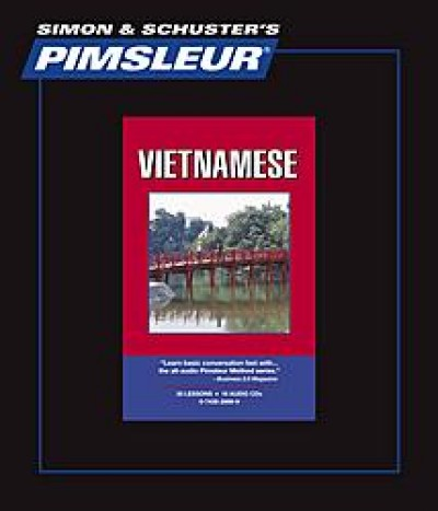 Pimsleur Vietnamese Comprehensive (16 Audio CD's / 30 Lessons)