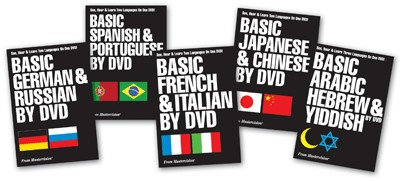 Basic French & Italian by DVD