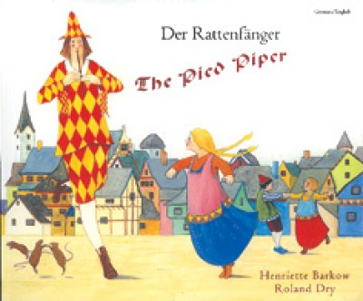 Pied Piper Children's Book in Czech/English