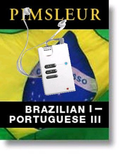 Audiofy Pimsleur Portuguese Brazilian I, II & III with Audiofy Player