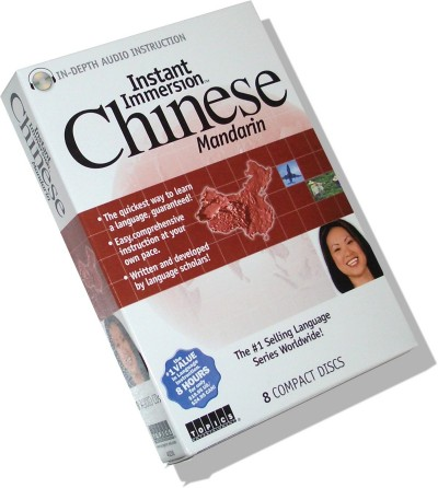 Instant Immersion - Chinese Mandarin (8 audio CDs)
