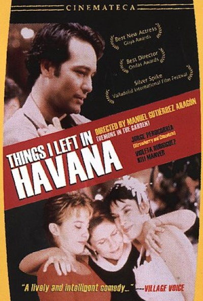 Things I Left In Havana (DVD)