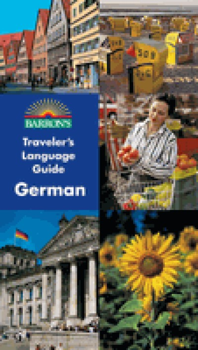 Barron's Traveler's Language Guides - German