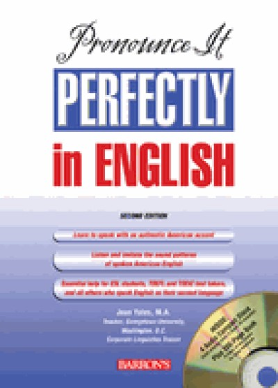 Barrons - Pronounce it Perfectly in English w/ Audio CDs, 2nd Edition
