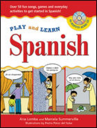 Play and Learn Spanish (w/ Audio CD)