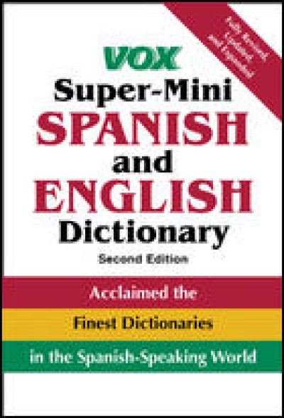 VOX Super-Mini Spanish and English Dictionary (2nd Edition)