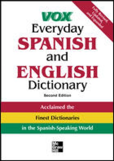 Vox Everyday Spanish and English Dictionary (2nd Edition)