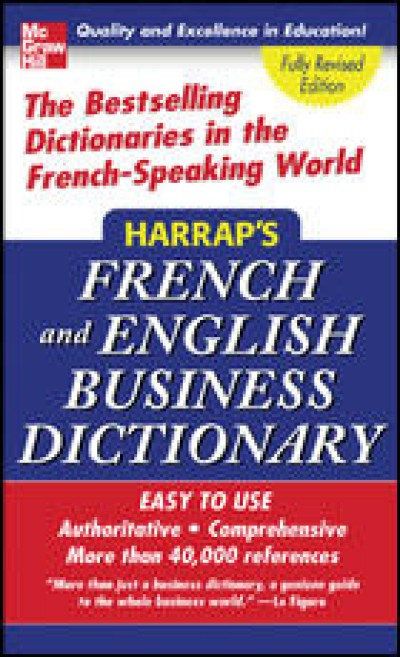 McGrawHill French - Harrap's French and English Business Dictionary