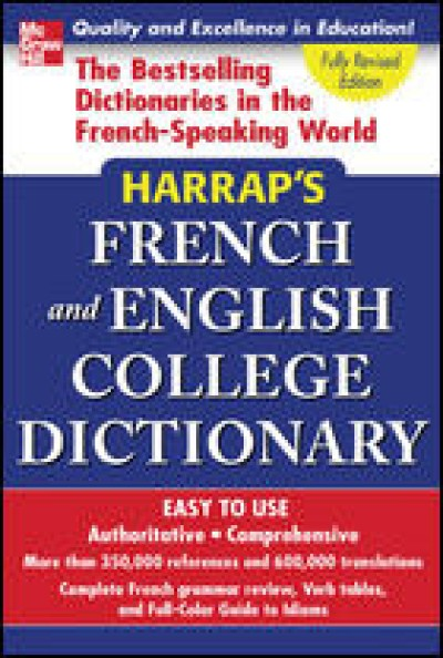 McGrawHill French - Harrap's French and English College Dictionary