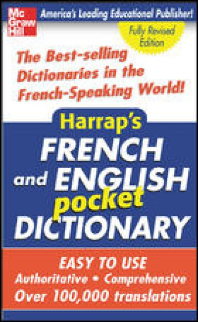 McGrawHill French - Harrap's French and English Pocket Dictionary