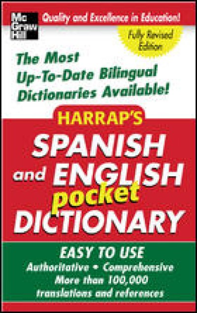 McGrawHill Spanish - Harrap's Spanish and English Pocket Dictionary