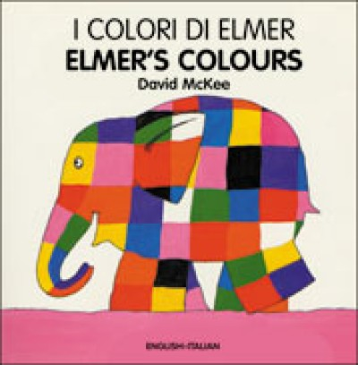 ELMER'S COLOURS (Italian-English) (Board book)