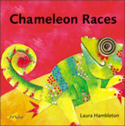 Chameleon Races (English) (Board book)