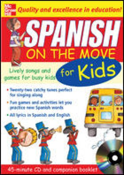 Spanish On The Move For Kids (Audio Cassette & Companion Booklet)