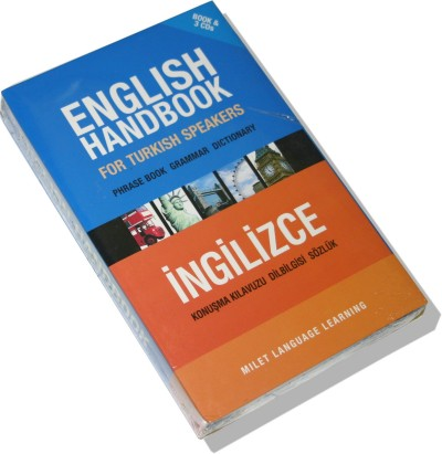English Handbook for Turkish Speakers (Book & CDs)