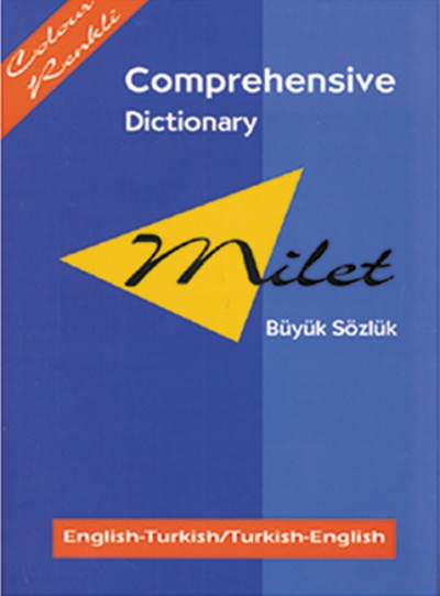 Milet Comprehensive Dictionary (English to and from Turkish) (Hardcover)