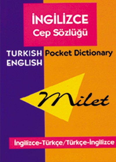 Milet Turkish-English Pocket Dictionary (Book)