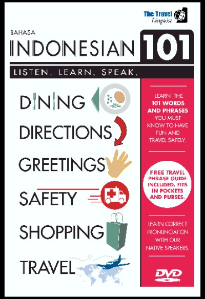 Bahasa indonesia 101 (DVD)