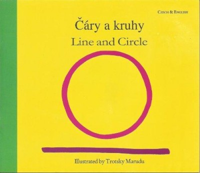 Line and Circle in Albanian & English by Trotsky Maruda