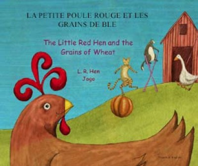 Little Red Hen in Russian & English (PB)