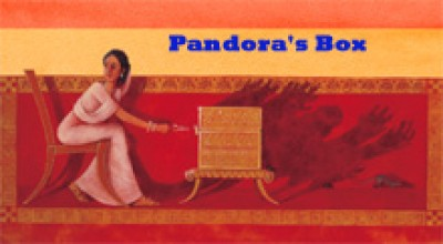 Pandora's Box in English Only by Henriette Barkow