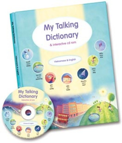 My Talking Dictionary - Book & CD Rom in Vietnamese & English (PB)