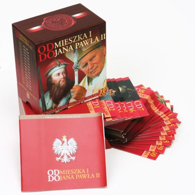 From Mieszko I to John Pual II. History of Poland on 30 CDs(Compact Di