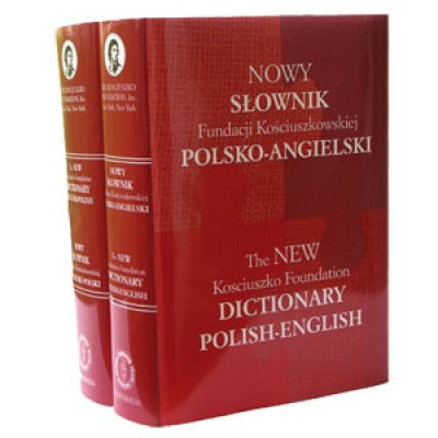 English to and from Polish Kosciuszko Foundation Dictionary (Book & CD-ROM)