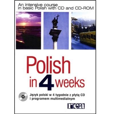 Polish in 4 Weeks Book & CD-ROM