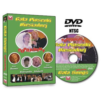 Gala Songs Round 2 (Polish Party Songs) (DVD)