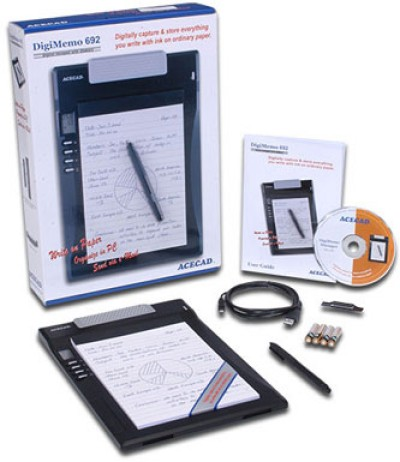 Acecad DigiMemo692 (Handwriting Recognition)
