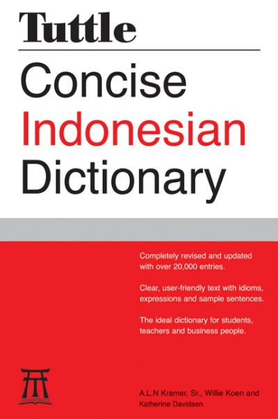 Tuttle - Concise Indonesian Dictionary (PB)