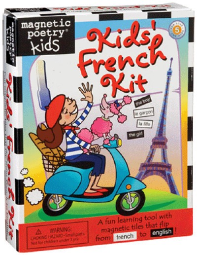 Magnetic Poetry Kids� Magnetic French Kit
